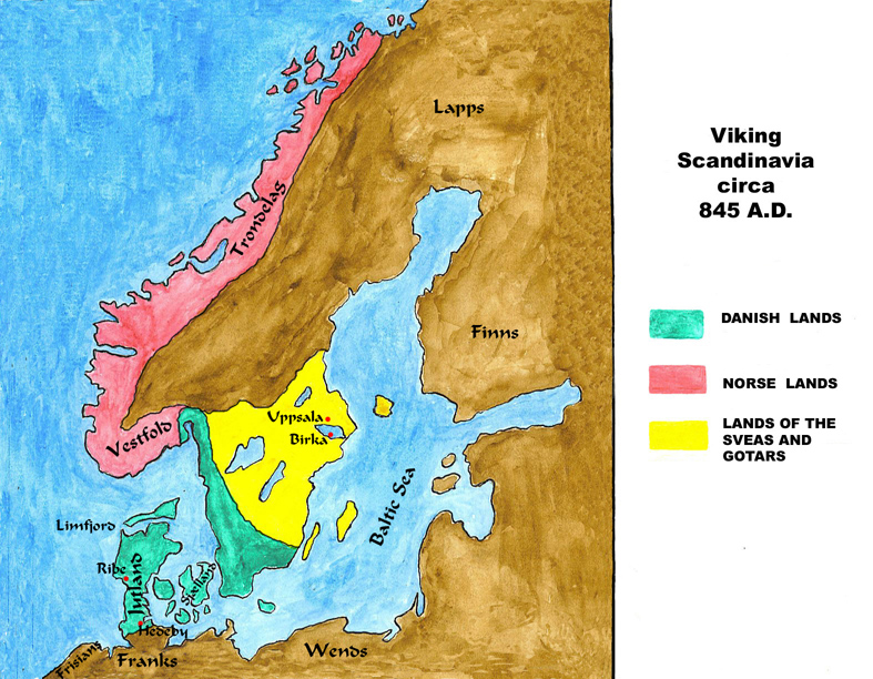 york vikings map
